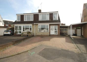 Thumbnail 3 bed semi-detached house for sale in Romsey Close, Strood, Kent