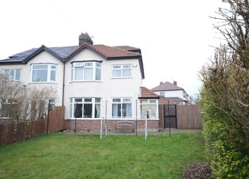 Thumbnail 4 bed semi-detached house for sale in Kingsmead Drive, Hunts Cross, Liverpool