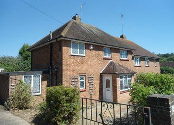 Thumbnail 3 bed semi-detached house to rent in Ashburnham Drive, Brighton