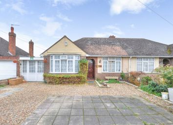 Thumbnail 3 bedroom semi-detached bungalow for sale in Aylesbury Road, Bedford