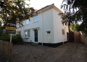 Thumbnail 3 bed semi-detached house to rent in Harmer Road, Norwich