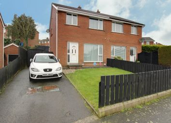 Thumbnail 3 bed semi-detached house for sale in 62 Brentwood Way, Newtownards