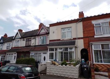 Thumbnail 4 bedroom terraced house for sale in Oakwood Road, Sparkhill, Birmingham, West Midlands