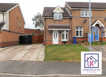 Thumbnail 2 bed semi-detached house to rent in Foxes Rake, Cannock