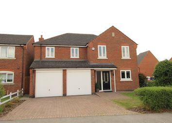 Thumbnail 5 bed detached house for sale in Maxwell Way, Lutterworth