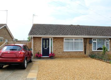 Thumbnail 2 bed semi-detached bungalow for sale in Goose Green Road, Snettisham, King's Lynn