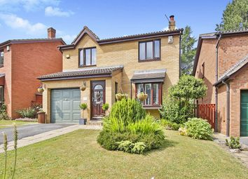 Thumbnail 4 bed detached house for sale in Dominies Close, Rowlands Gill