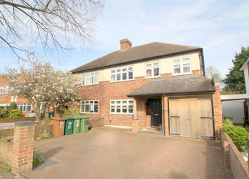 Thumbnail 4 bedroom semi-detached house for sale in Grosvenor Road, Staines-Upon-Thames, Surrey