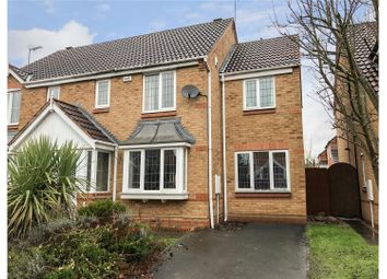 Thumbnail 3 bed semi-detached house for sale in Stirling Close, Mountsorrel