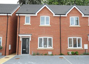 Thumbnail 3 bed semi-detached house for sale in Glazebrook Meadows, Glazebrook, Warrington