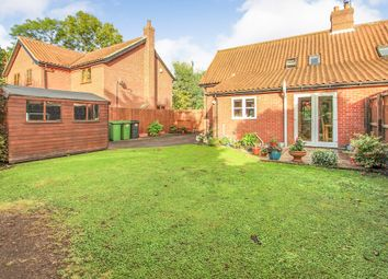 Thumbnail 3 bed semi-detached house for sale in Old Street, Newton Flotman, Norwich