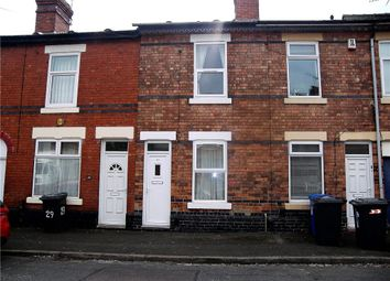 Thumbnail 2 bed terraced house to rent in Arundel Street, Derby