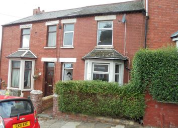 Thumbnail 3 bed terraced house to rent in Dovedale Street, Barry