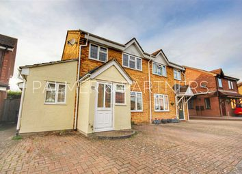 Thumbnail 3 bed semi-detached house for sale in Layzell Croft, Great Cornard, Sudbury