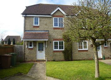 Thumbnail 3 bed semi-detached house for sale in The Paddock, Longworth, Abingdon
