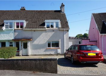 Thumbnail 3 bed semi-detached house for sale in The Glebe, Tenby