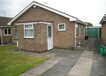 Thumbnail 2 bed bungalow to rent in Frome Avenue, Oadby