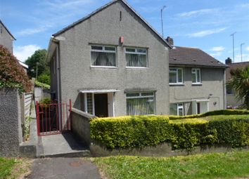 Thumbnail 3 bed semi-detached house for sale in Pike Road, Laira, Plymouth