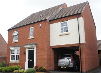Thumbnail 4 bed detached house for sale in Luke Jackson Way, Stanton Under Bardon, Markfield