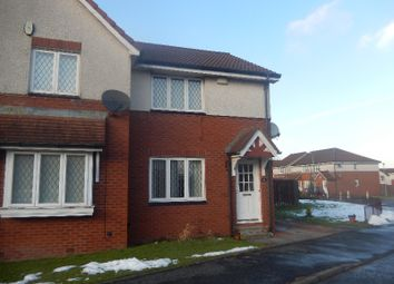 Thumbnail 2 bed semi-detached house to rent in Moorfield Crescent, Airdrie, North Lanarkshire
