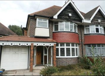 Thumbnail 3 bed semi-detached house for sale in Fox Hollies Road, Birmingham