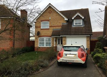 Thumbnail 3 bed detached house to rent in Hargate Way, Hampton Hargate, Peterborough.