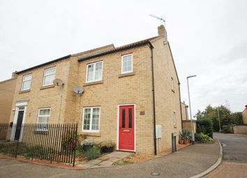 Thumbnail 2 bed semi-detached house for sale in Columbine Road, Ely