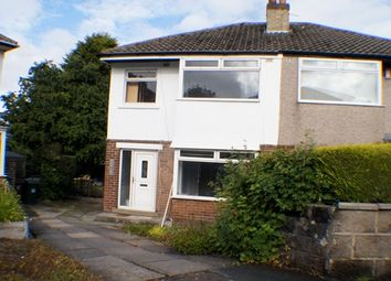 Thumbnail 3 bed semi-detached house for sale in Brantwood Grove England, Bradford BD9, Bradford,