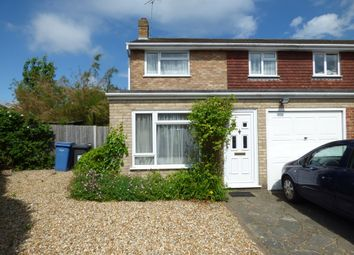 Thumbnail 3 bed semi-detached house for sale in Tichborne Close, Blackwater, Camberley