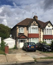 Thumbnail 3 bed semi-detached house for sale in Hillcroft Crescent, Wembley, Middlesex