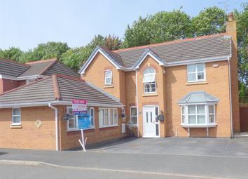 Thumbnail 5 bed detached house for sale in Smithford Walk, Tarbock Green, Liverpool
