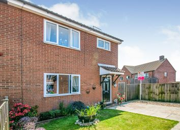 Thumbnail 4 bed semi-detached house for sale in Wells Avenue, North Walsham