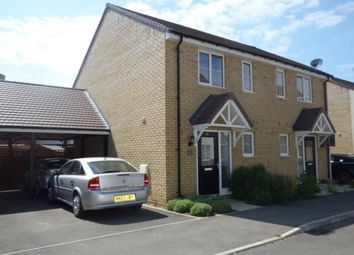 Thumbnail 2 bed semi-detached house for sale in Alderney Avenue, Newton Leys, Bletchley, Milton Keynes
