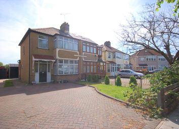 Thumbnail 3 bedroom semi-detached house for sale in Seabrook Gardens, Romford