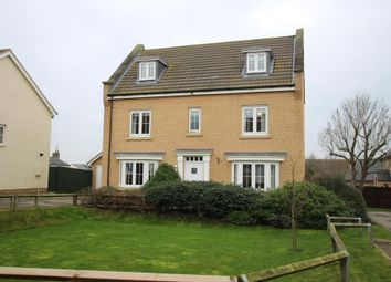 Thumbnail 5 bedroom detached house for sale in Ashleaf Close, Haddenham, Ely