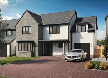 Thumbnail 4 bed detached house for sale in Plot 29 The Harlech Integral, Caswell, Swansea