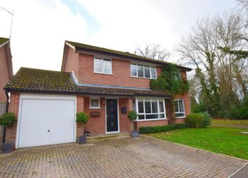 Thumbnail 4 bed detached house for sale in Malthouse Close, Church Crookham, Fleet