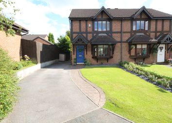 Thumbnail 3 bed semi-detached house for sale in Chartwell Close, Brindle, Chorley
