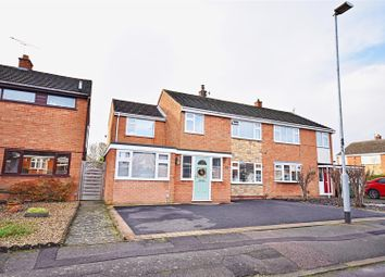 Thumbnail Semi-detached house for sale in Britford Avenue, Wigston