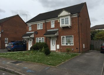Thumbnail 3 bed semi-detached house to rent in Dorrington Close, Luton, Beds
