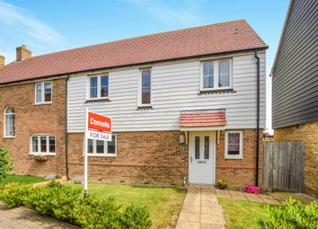 Thumbnail 4 bedroom semi-detached house for sale in Rutledge Avenue, Kingsnorth, Ashford