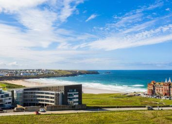Thumbnail 3 bed flat for sale in Fistral Blue, Headland Road, Newquay, Cornwall