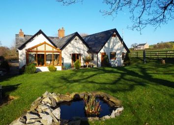 Thumbnail 3 bed detached house for sale in With Two Log Cabins, Nantglyn Road, Denbigh, Denbighshire