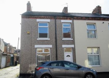 Thumbnail 3 bed end terrace house to rent in Raby Street, Darlington