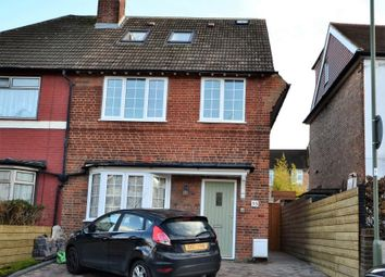 Thumbnail 3 bed maisonette to rent in Church Lane, East Finchley
