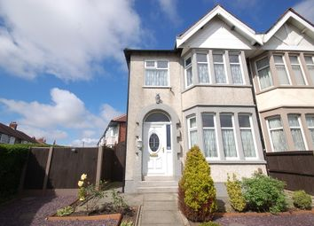 Thumbnail 3 bedroom end terrace house for sale in Penrose Avenue, Blackpool