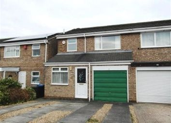 Thumbnail 3 bed semi-detached house to rent in Penhill Close, Ouston, Chester Le Street