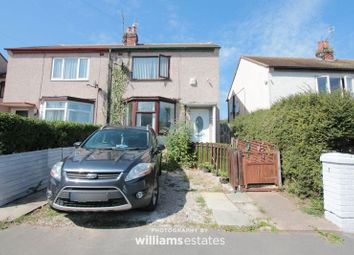 Thumbnail 2 bed semi-detached house for sale in Pendre Avenue, Rhyl