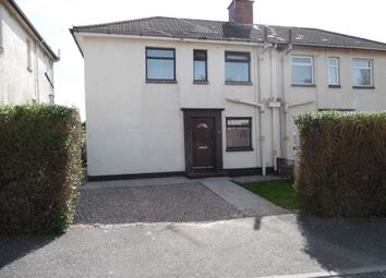 Thumbnail 2 bed semi-detached house to rent in Graymount Parade, Newtownabbey