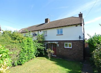 Thumbnail 3 bed semi-detached house for sale in Dovecote Close, Weybridge